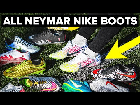 NEW NEYMAR BOOTS & Every Nike Signature Boot He's Had