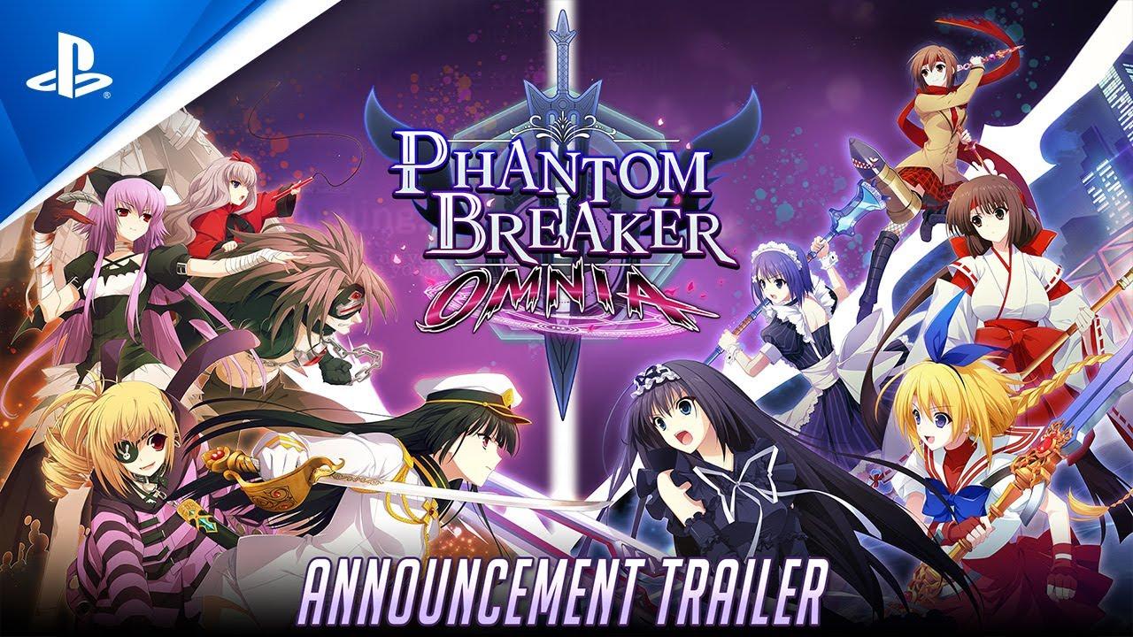 Phantom Breaker: Omnia - Announcement Trailer   PS4 - YouTube