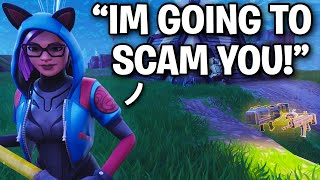 Scammer s'est fait arnaquer TWICE dans UN ROW! 😂 (Scammer Get Scammed) Fortnite Save The World
