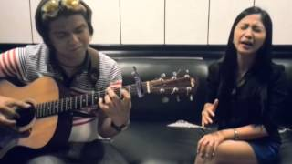 "[ACOUSTIC] ""Kung Wala Ka Na"" by Maria Morena (vocals) & Dale James Ferrer (guitar)"