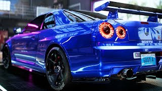 R34 Skyline GTR Build - Need for Speed: Heat Part 16