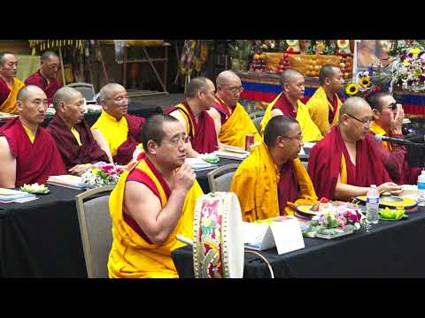 Repeat 3rd North American Sakya monlam for World Peace Day