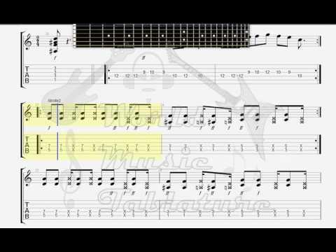 Die Ärzte   Schrei nach Liebe mit Orchester  GUITAR 1 TAB