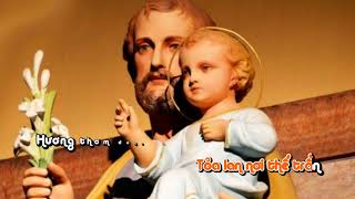 Thánh Giuse Bảo Trợ Những Khó Khăn    Vũ Phong Vũ    Karaoke HD    (SONG/LYRICS)