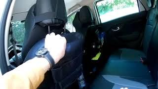 Органайзеры на автомобильные кресла - обзор и тестирование.