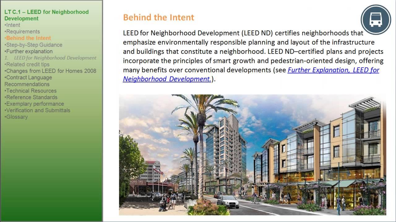 Leed V4 Homes Lt C1 Neighborhood Development Part 4