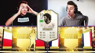 SOCRATES OPTIMUS PRIME PACK AND PLAY! WALKOUT! ADRYAN VS DAVCZO | FIFA 19