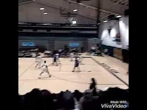 Xavier Smith last Basketball Game as a Senior Royal Palm Beach High School