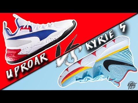 is-puma's-second-ball-shoe-better-than-the-kyrie-5?-puma-uproar-vs-nike-kyrie-5!