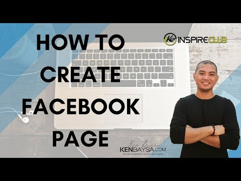 How To Create Your Facebook Page - Tagalog Tutorial