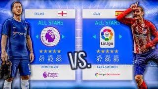 Premier League ALL-STARS vs. La Liga ALL-STARS! - FIFA 19 Career Mode Experiment