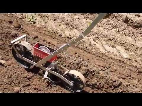 Earthway Push Planter Precision Garden Seeder and How to Plant