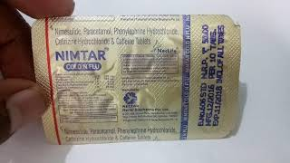 Nimtar Cold & Flu Tablet Full Review