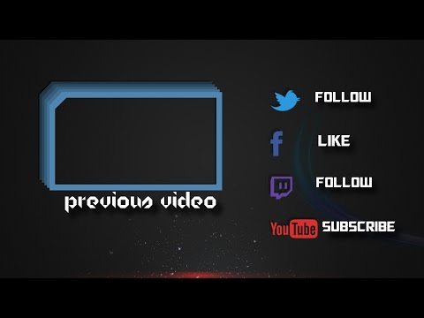 Black outro template video for sony vegas pro 11 down for Blank outro template
