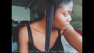 Long Natural Hair Inspiration [ 4C HAIR ]