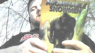 Book Review: Abominable Snowmen: Legend Come To Life by Ivan Sanderson