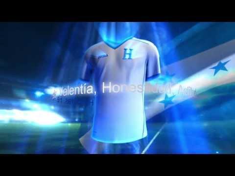 Joma Sport: nueva equipación de Honduras para la Copa Mundial de la FIFA Brasil 2014.