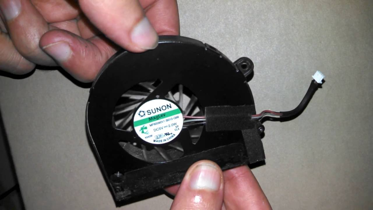 how to test a laptop cpu fan cooler with usb cable [ 1280 x 720 Pixel ]