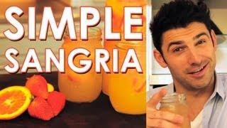 Simple Sangria With Chef Stuart