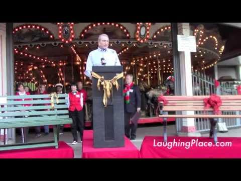 Dedication of Diane Disney Miller Bench at the Griffith Park Merry-Go-Round