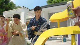【日本廣告】夏天來到,日本人很喜歡玩「流水素麵」,用你的筷子功力爭...