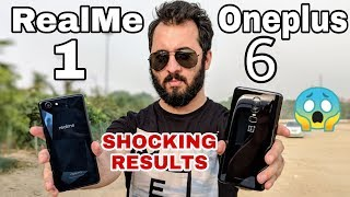 Oppo RealMe 1 vs Oneplus 6 Comparison|SpeedTest, Gaming Review, Battery Review, Benchmarks|