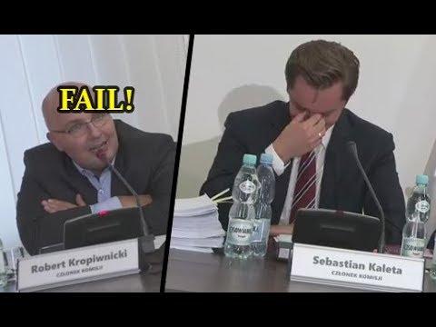 Sebastian Kaleta MASAKRUJE Kropiwnickiego broniącego Gronkiewicz-Waltz!