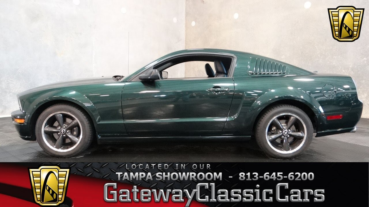 2008 Ford Mustang Gt Bullitt Youtube