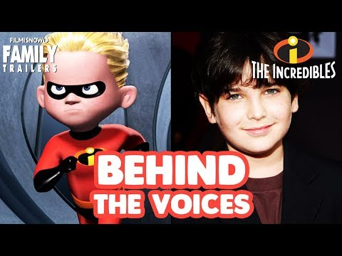 THE INCREDIBLES  Behind the Voices of the Disney Pixar animated family movie