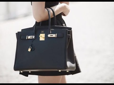 52f0fcec301f How to spot a fake Hermes bag - YouTube