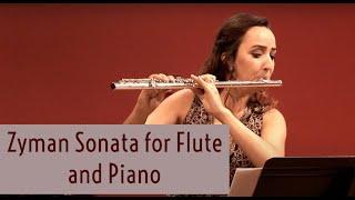 Zyman Sonata for Flute and Piano