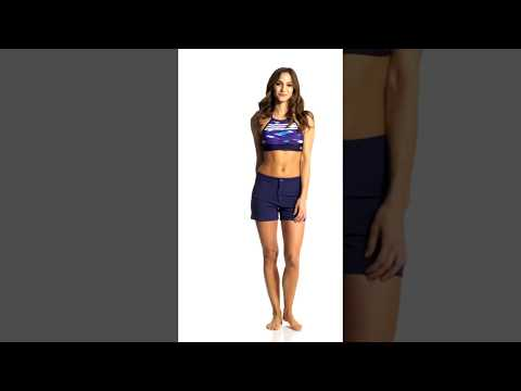 adidas-women's-woven-swim-short- -swimoutlet.com