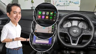 FIRST LOOK: 2019 Nissan X-Trail - Nissan Connect with Apple CarPlay and Android Auto