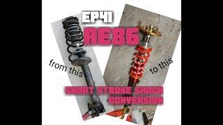 Ep41 PROJECT AE86 short stroke conversion! thumbnail