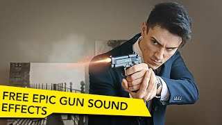Gunshot Sound Design:  Free Gun Sound Effects