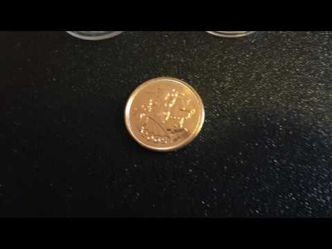 2005 Full Gold Sovereign coin