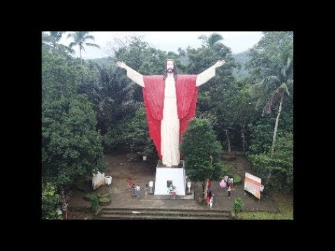 Kamay ni Hesus. Lucban Quezon. + Aerial View
