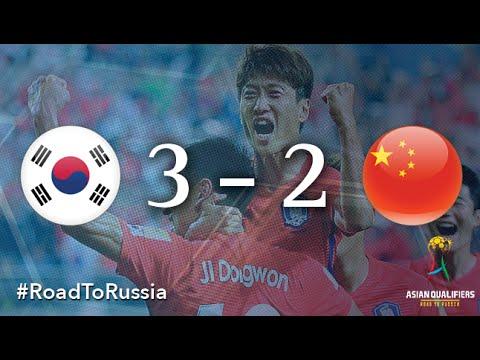 Korea Republic Vs China PR (Asian Qualifiers - Road To Russia)