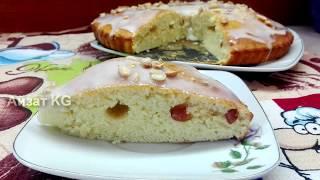 Сладкий пирог за 10 мин на МОЛОКЕ + выпечка . Быстрый пирог к чаю