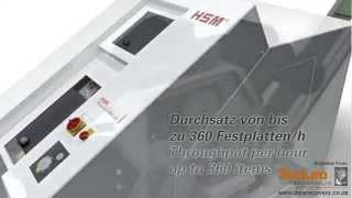 HSM Powerline HDS 230 high--performance data shredder