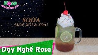 Soda Mâm Xôi Raspberry vị chua chua ngọt ngọt hấp dẫn