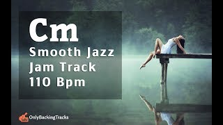smooth jazz backing track ( c minor)