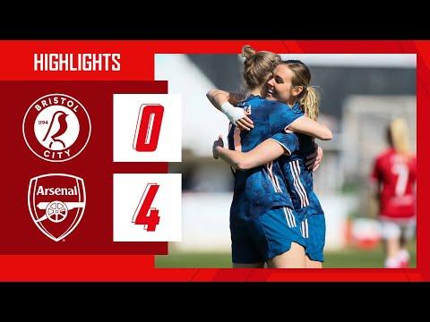 HIGHLIGHTS | Bristol City vs Arsenal (0-4) | Women's Super League | Miedema, van de Donk, Mead