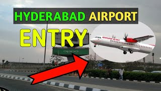 Hyderabad Airport Entry| Rajib Gandhi International Airport | Hyderabad| Indian Airports