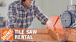 Tile Saw Rental - The Home Depot