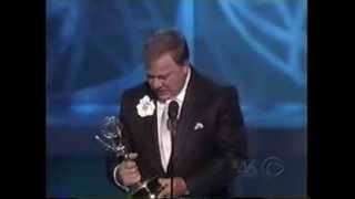 William Shatner wins 2005 Emmy Award for Supporting Actor in a Drama Series