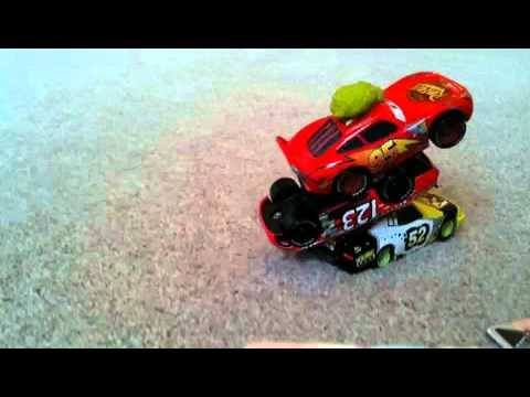 Zak and Daddy's Cars Still Frame Animation