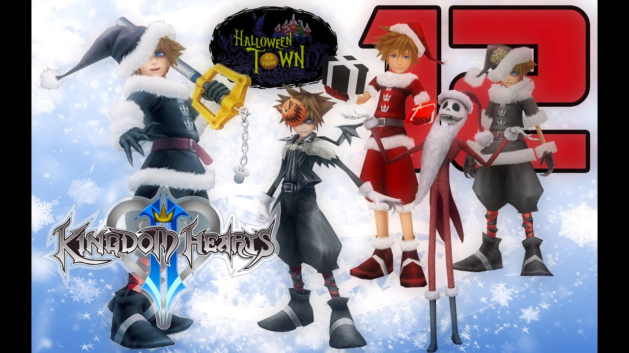 Kingdom Hearts 2.5 HD Remix - Pt.12 - The Nightmare Before Christmas ...