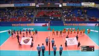 Finale féminine Coupe de France de Volley 2014 - RCC Cannes / VBN Nantes