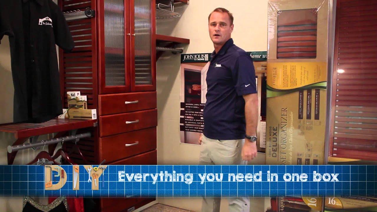 John Louis Home Closet System At A. L. Thompsonu0027s